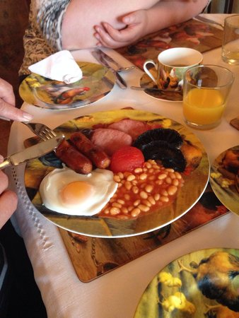 Ingon Bank Farm: The very tasty full English