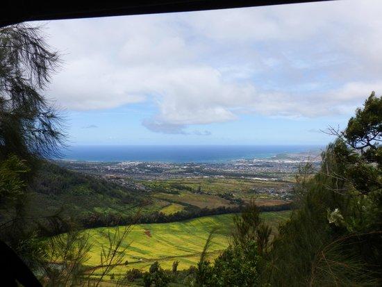 Flyin Hawaiian Zipline : Great views on each run