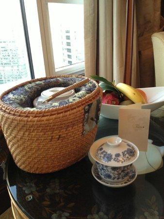 Island Shangri-La Hong Kong: welcome drink