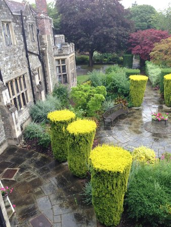 Eastwell Manor : The view from our bathroom