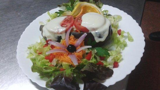 Restaurant Rendezvous: Stuffed eggplant