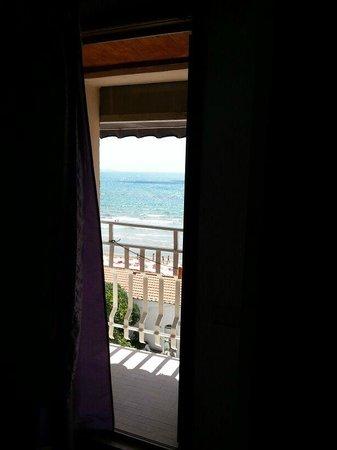Hotel Pensione Eden: Vista dalla camera