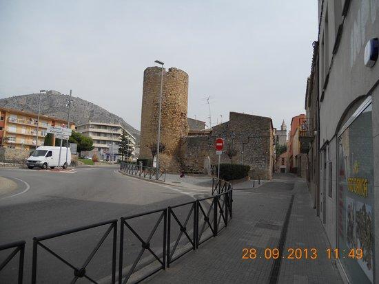 Castillo de Montgrí: heksentoren