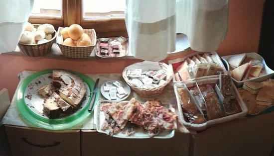 Juliette House: breakfast