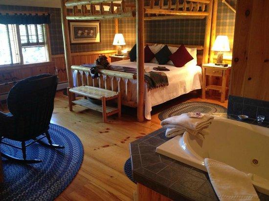 Rabbit Hill Inn : Cedar Glenn room