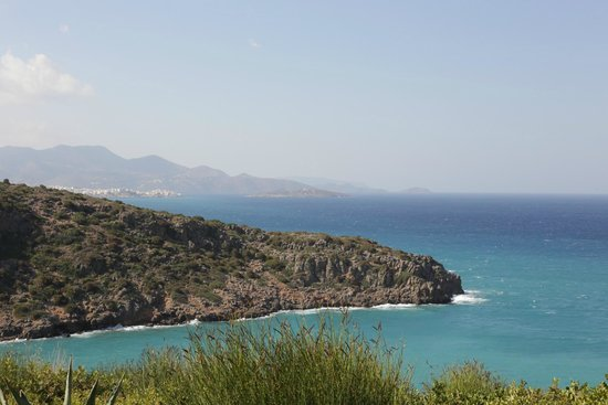 Daios Cove Luxury Resort & Villas: View from the Room