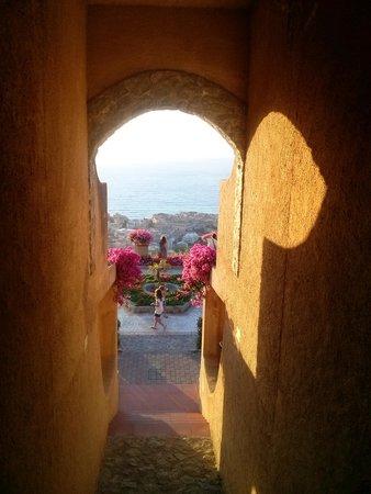 Villaggio l'Olivara : Ingresso alla terrazza panoramica