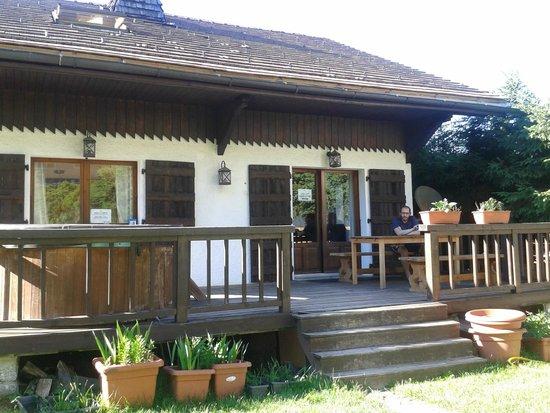 Chamonix Lodge: Porche