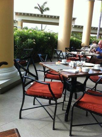 Iberostar Grand Hotel Paraiso: terrasse dehors
