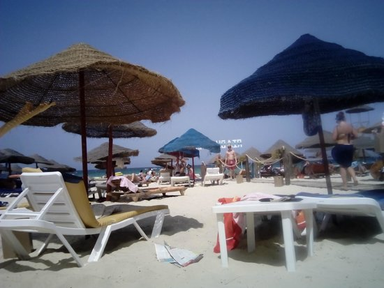 Riadh Palms Hotel : Beach