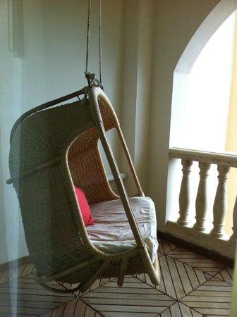 Iberostar Grand Hotel Paraiso: Balcon avec balancoire