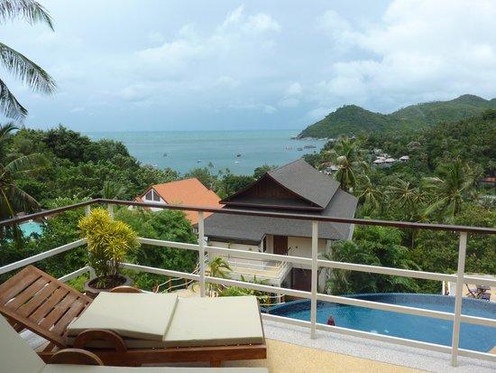 Koh Phangan Pavilions: udsigt