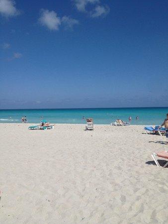 Brisas del Caribe Hotel: пляж