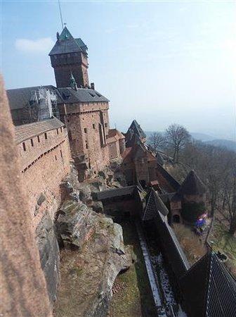 Chateau du Haut-Koenigsbourg: le chateau
