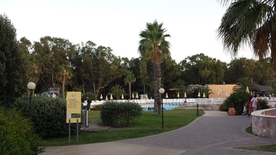 Serene Village : zona piscina