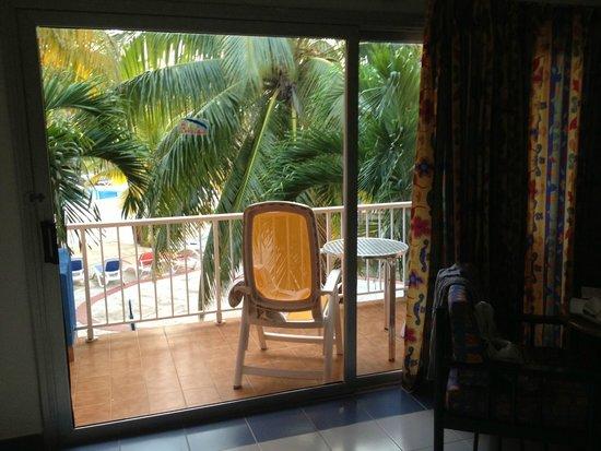 Brisas del Caribe Hotel: балкон