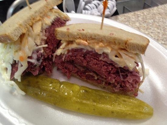Reading Terminal Market: CORNED BEEF ON RYE
