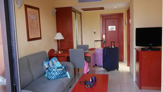 La Siesta Hotel : Part of the room.