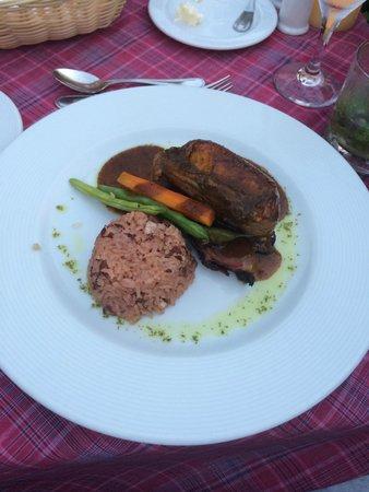 Secrets St. James Montego Bay : Dinner at Blue Mountain