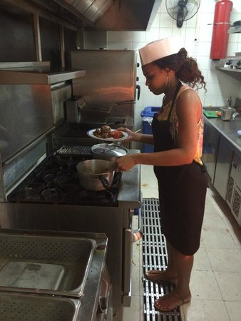 Secrets St. James Montego Bay : Cooking Dinner