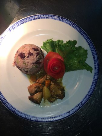 Secrets St. James Montego Bay : Dinner Hubby and I learned to cook