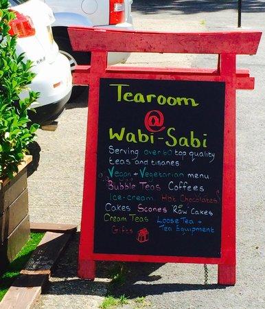 Wabi Sabi Tearoom: Lots of choice