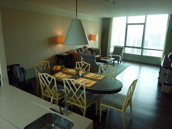 Oriental Residence Bangkok: stue køkken