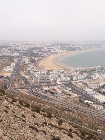 Ryad Mogador Al Madina: Вид с горы Касба