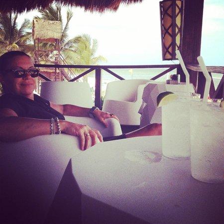 Secrets Silversands Riviera Cancun: Beats workin'!