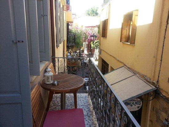 Fatma Hanoum Boutique Hotel: Our lovely balcony