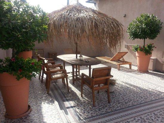 Fatma Hanoum Boutique Hotel: Roof garden (Suntrap)