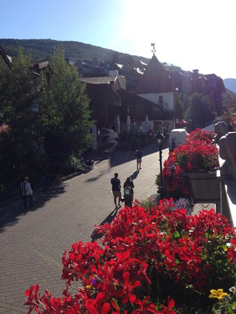 Sonnenalp: View of Vail Village from Balcony