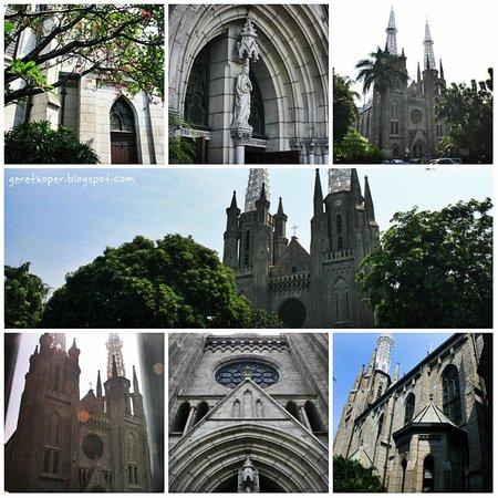 Jakarta Cathedral: Kolase Gereja Katedral Jakarta
