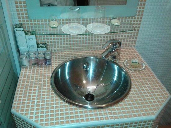 El Rey Moro Hotel Boutique Sevilla : prodotti nel bagno