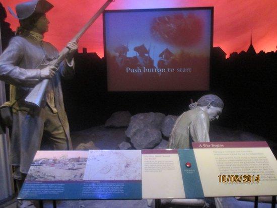 National Museum of American History: Bataille de Lexington