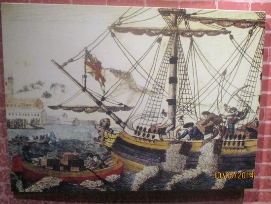 National Museum of American History: Boston Tea Party