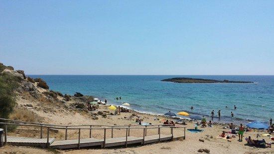 Salento Sun & Sea : Spiaggetta di fronte il residence..
