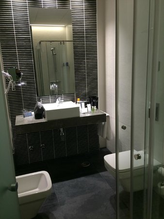 Hotel Regina: Bathroom