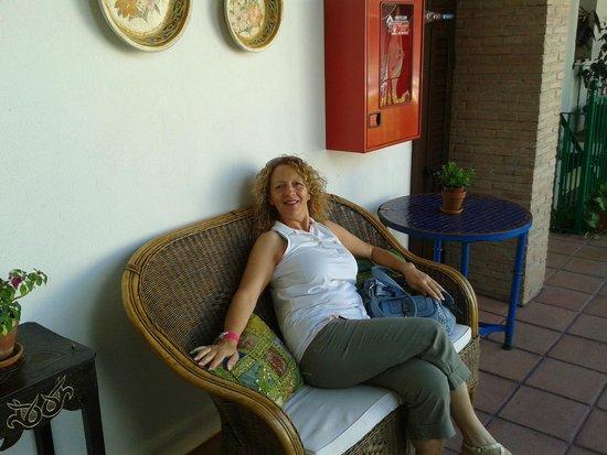 El Rey Moro Hotel Boutique Sevilla: sul patio