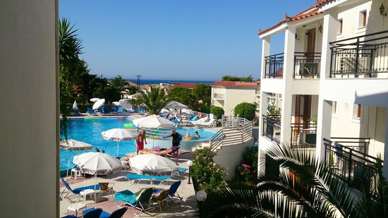 Katerina Palace Hotel : View from just outside of room