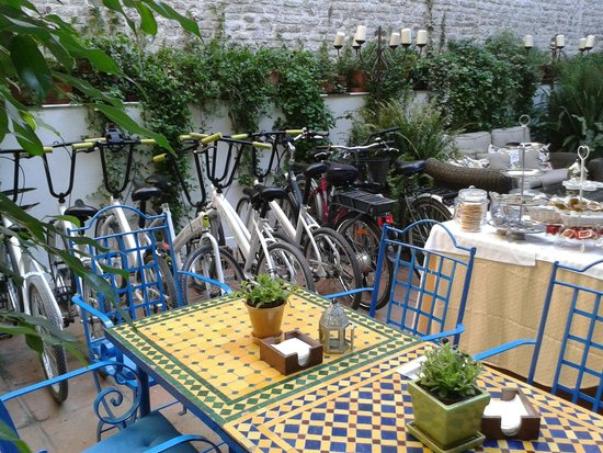 El Rey Moro Hotel Boutique Sevilla : le comode bici