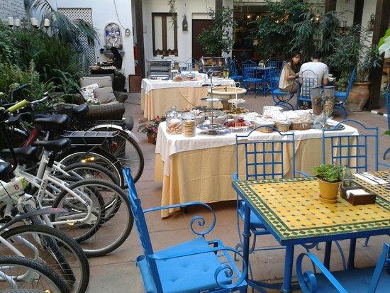El Rey Moro Hotel Boutique Sevilla : dove viene servita la colazione