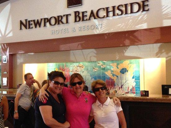 Newport Beachside Hotel and Resort: ferias com amigos
