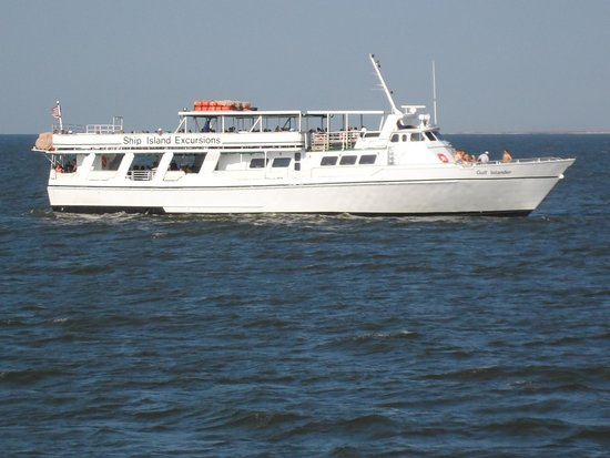 Mv gulf islander ferry boat picture of ship island excursions ship island excursions mv gulf islander ferry boat sciox Images