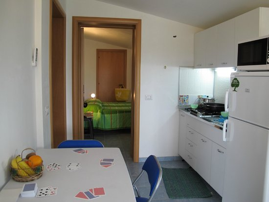 Alficodindia: angolo cottura appartamento Menta