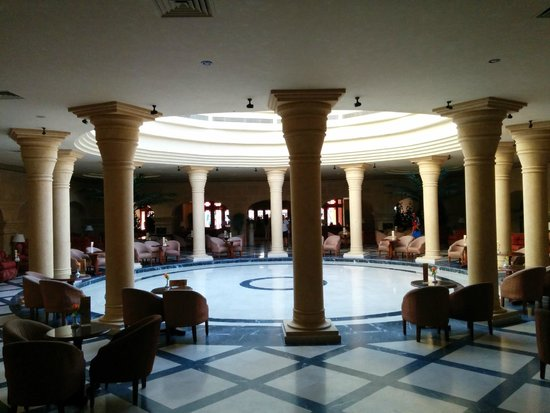 The Grand Resort Hurghada: Inside the lobby