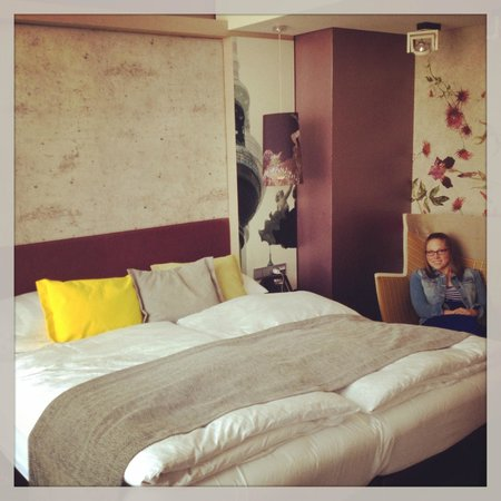 Hotel Indigo Berlin – Centre Alexanderplatz: The themed bedroom