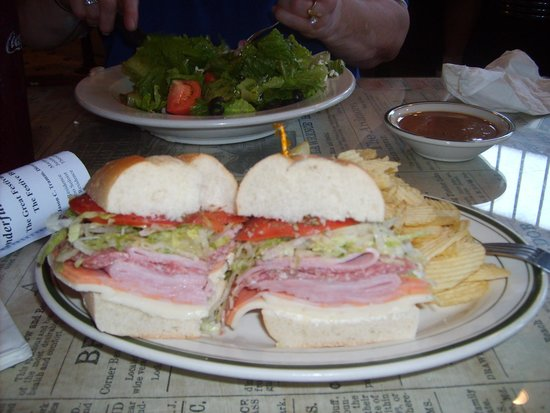 Nagle's Apothecary Cafe : Our meal.........