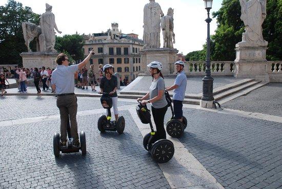 Rex-Tours The Rome Experience: Leo als Reiseleiter