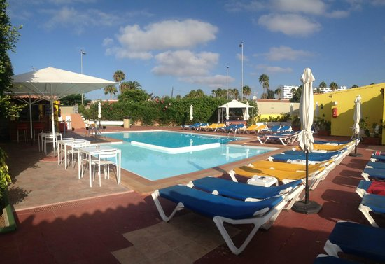 Tropical La Zona: Many great afternoons by the pool